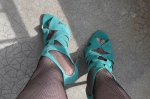 Mes pieds du jour